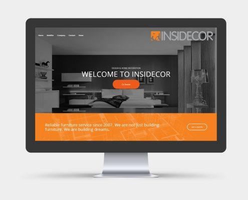 realizare site web mobilier la comanda