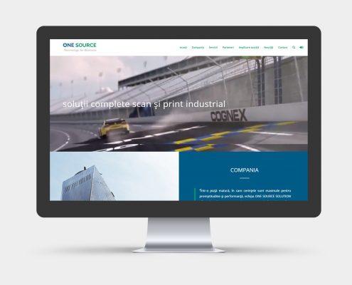 web design site prezentare firma consultanta