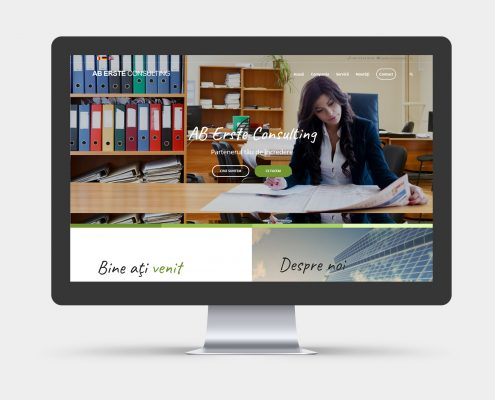 web design site prezentare resurse umane