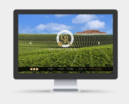 esign website for wine cellar - Recas